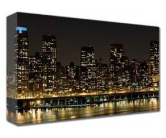 Canvastavla Manhattan Night