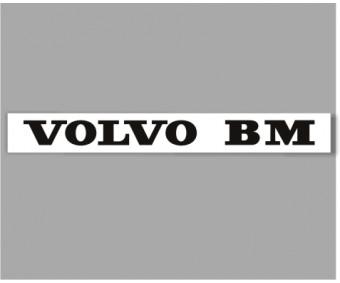 Traktordekal Volvo BM
