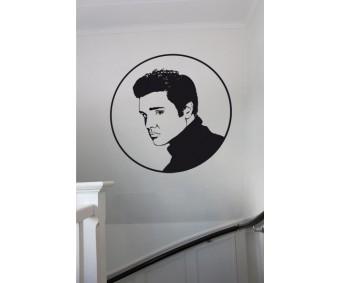 Kändis silhuett Elvis Presley
