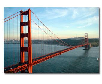 San Francisco Golden Gate Hill Side