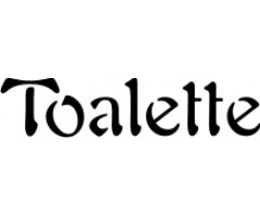 Rumstext Toalette